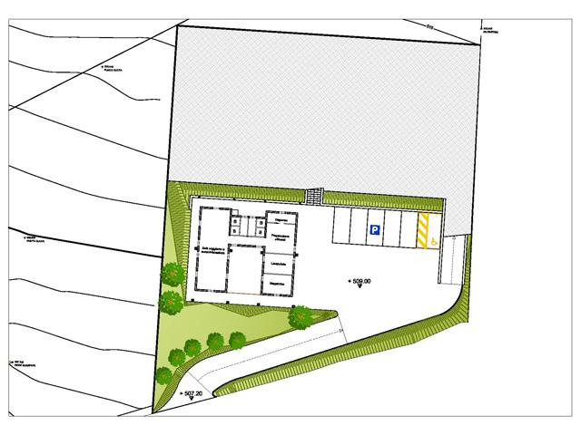 Planimetria centro di accoglienza di Poggio S. Lorenzo